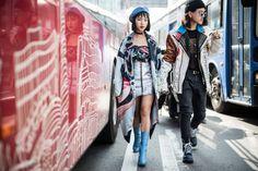 アジアンストリートスタイルの上級者集う 2017年春夏ソウル・ファッション・ウイーク | WWD JAPAN.com