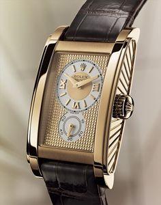 Rolex Cellini Rolex Prince Rectangular, 18ct Everose gold — M5442/5-0001