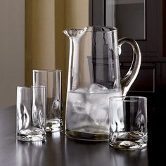 Set of 12 Impressions Juice Glasses - Crate and Barrel