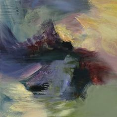 Original art for sale at UGallery.com   Monsoon by Emilia Arana   $2,375   acrylic painting   36' h x 36' w   http://www.ugallery.com/acrylic-painting-monsoon