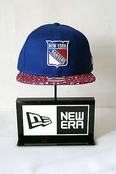 New Era 9FIFTY New York Rangers Blue Pink Patterned Peak Snapback Baseball  Cap  9e200d71b1a6