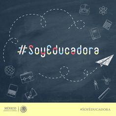 21 de abril, se celebra en méxico el Día de la Educadora. #SoyEducadora