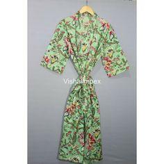 Long Kimono, Kimono Dress, Tie Styles, Collar Styles, Maxi Gowns, Dresses, Cotton Kimono, V Neck Dress, Types Of Sleeves