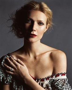Gwyneth Paltrow.   Love this! This is what inspires our creative work you can see at  http://www.ancienteyebohemianarts.com