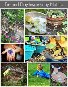 Pretend play for kids, inspired by nature