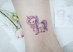 : Baby unicorn  . . #tattooistbanul #tattoo #tattooing #unicorn #unicorntattoo #drawing #sketch #illust #타투이스트바늘 #타투 #스케치 #유니콘 #유니콘타투