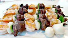 Southwest Surf and Turf Skewers