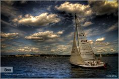 Sailing boat . by Fariso  Boat Potomac River Sailing boat Virginia Washington DC Sailing boat .... Fariso