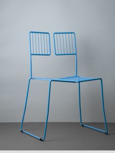 Milan Blue WSC Chair = WANT BADLY!