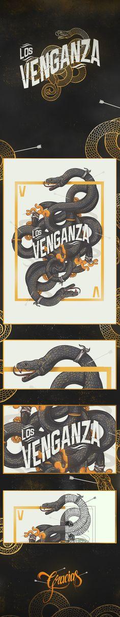 Fazer algo parecido com essa pegada de cobra, mas usar a temática dá Vingança