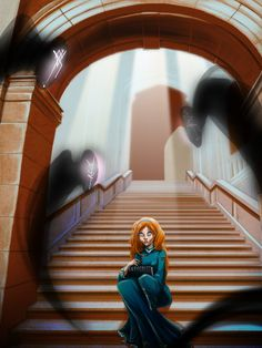 A great image of Shallan, from The Stormlight Archives, by SDumagny.deviantart.com on @deviantART.