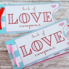 Love Coupon Book free printable on iheartnaptime.com