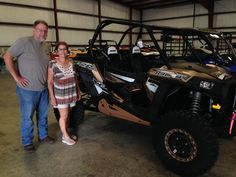 Congratulations to Steve and Arlene Koscilek from Navarre, FL for purchasing a 2017 Polaris RZR XP 1000 from Hattiesburg Cycles. #polaris