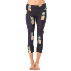 Pineapple Party Capri Legging http://evolvefitwear.com/womens-clothing/best-sellers/pineapple-party-capri-legging?acc=72b32a1f754ba1c09b3695e0cb6cde7f