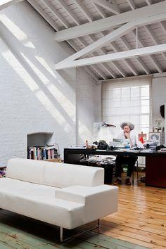 A Light-filled London Loft with a Dreamy Kitchen   Design*Sponge