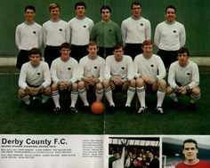 Derby County 1968 Football Picture