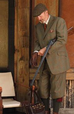 """Darling, I'm off to put down a few unmentionables I saw roaming by the duck pond."" Civilized zombie survival."