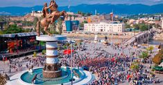 Discover Skopje in Macedonia, one of the best destinations in Europe for a city break. Best hotels in Skopje, Best tours and activities in Skope, Best things to do in Skopje. Places To Travel, Places To See, Republic Of Macedonia, Italy Tours, European Tour, Amazing Destinations, Holiday Destinations, Capital City, Greek Islands