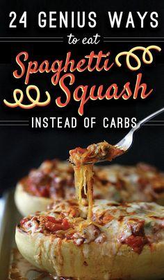 24 Genius Ways To Eat Spaghetti Squash Instead Of Carbs