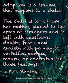 Adoption trauma