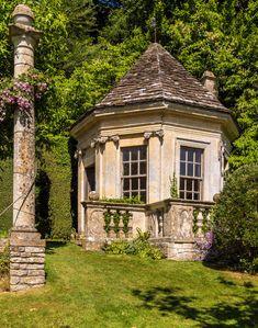 The Harold Peto garden at Iford Manor in Wiltshire.