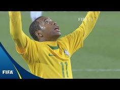 Brazil - Chile, 2010 FIFA World Cup: The sparkling attacking trio of Robinho, Kaka and Luis Fabiano lead the Selecao to a trio of gorgeous goals in what was . World Cup Games, World Cup Match, Match Highlights, Fifa World Cup, Chile, Brazil, Chili