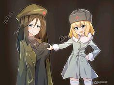 Thicc Anime, Otaku Anime, Kawaii Anime, Pretty Anime Girl, Anime Art Girl, Brave Witches, Adventure Time Girls, Anime Military, Accel World