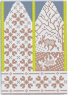 Søkeresultat for Jorid linvik hjortehansker - Hello Knitted Mittens Pattern, Knit Mittens, Knitted Gloves, Knitting Charts, Knitting Stitches, Knitting Patterns, Crochet Patterns, Crochet Wrist Warmers, Hand Warmers