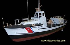 "USCG 44"" Lifeboat Model Boat Kit by Dumas Model"