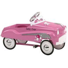 Features:  -Authentic detailing - Brings back memories of old times.  -Adjustable pedal drive - Fits a wide size range of children.  -Functional steering - Provides true performance and easy use.  -St
