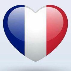 Heart for France...