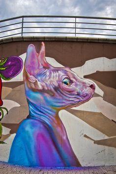 Street art | Mural (Nepezzano, Italy, 2014) by Maria