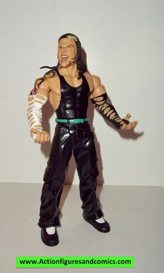Jakks Pacific toys wwf WWE WRESTLING action figure series JEFF HARDY ruthless aggression series 39 condition: overall excellent with nice paint detail figure size: approx. 6 - 7 inch -----------------