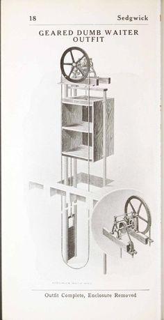 simple dumbwaiter | Thread: Hand powered elevators and dumbwaiters