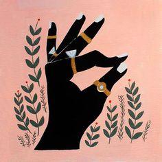 El color rosa en la ilustración - Emily Isabella
