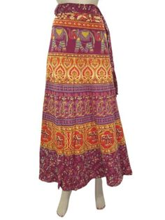 Skirt Sarong Indie Maroon Elephant Print Long Wrap Around Skirts Mogul Interior,http://www.amazon.com/dp/B00FIYOI2E/ref=cm_sw_r_pi_dp_LMxssb1XZKPWS7GR