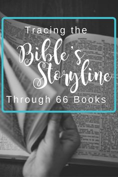The Bible has one storyline! Check out what it is and where each book of the Bible fits in.