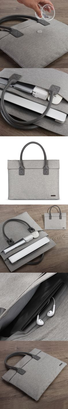 "2016 High Quality Portable KUMON laptop Bag For Apple macbook Air Pro 13  inch Computer Handbag For Mac Retina 13.3"""