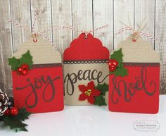 Kendra's Paper Creations: Taylored Expressions Release: A Little Peace, Joy and Noel!