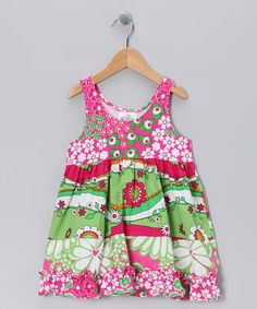 Take a look at this Green Garden Princess Babydoll Dress - Infant, Toddler & Girls by Corky's Kids on @zulily today!