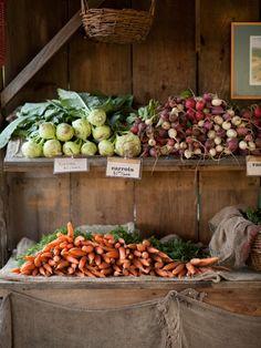 thevegetablemarket:  (via root cellar | Kitchen Gardens)