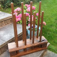 We have several ready made 4 pair boot racks ready for despatch, please click on the link for more info. I love to make things out of reclaimed timber, making something beautiful and useful out of something that would otherwise be thrown away