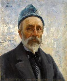 Fausto Zonaro - Autoritratto 1914