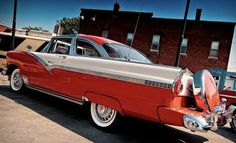 Vintage Cars, Antique Cars, Car Man Cave, Classy Cars, Ford Fairlane, Ford Falcon, Hot Cars, Cars And Motorcycles, Dream Cars
