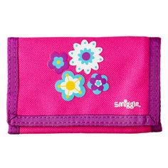 B2s Wallet from Smiggle - flower