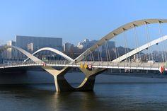 Pont Schuman à Lyon ©explorationsarchitecture