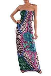 PRINT MAXI DRESS $42