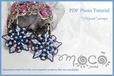 Photo Tutorial ENG  ITA DIY EarringsMaysun earrings by MocoJewels