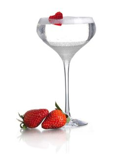 <p><i>2 oz. Purity Vodka<br /> </br><br /> ¾ oz. white crème de cacao<br /> </br><br /> ½ oz. water<br /> </br></br><br /> Garnish: strawberry</p> <p></i><br /> </br></br><br /> Combine all ingredients in a glass and stir. Garnish with a strawberry.<br /> </br></br><br /> <i>Source: Purity Vodka</i></p>