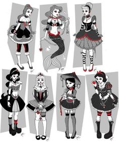 disney punk goth princess - Szukaj w Google